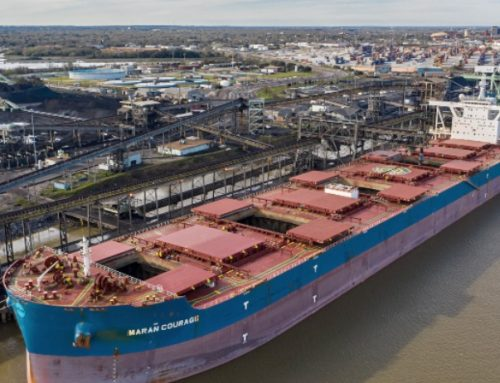 Port of Mobile welcomes its largest bulk carrier ever — Ship exports 133,000 tons of Ala. met coal